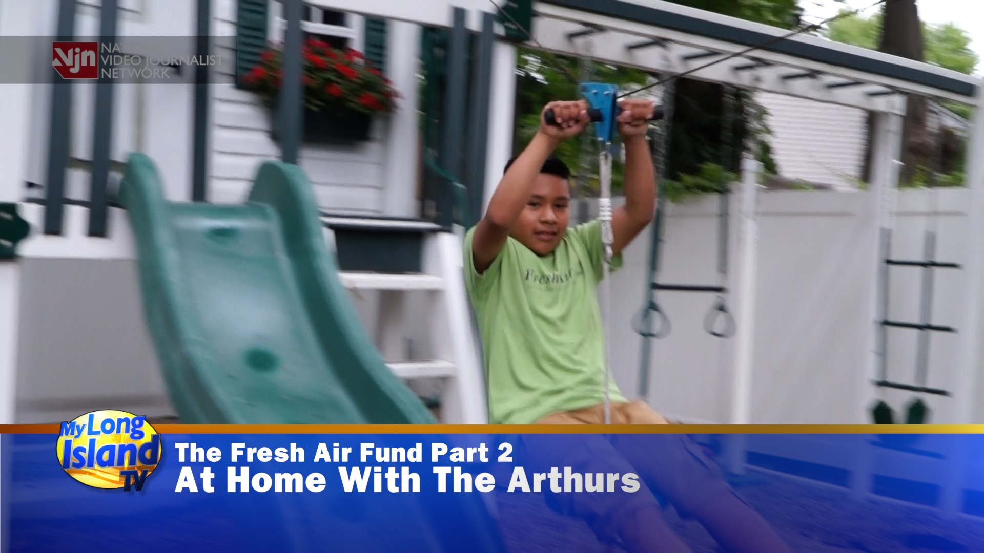 Fresh Air fund - At home with the Arthurs