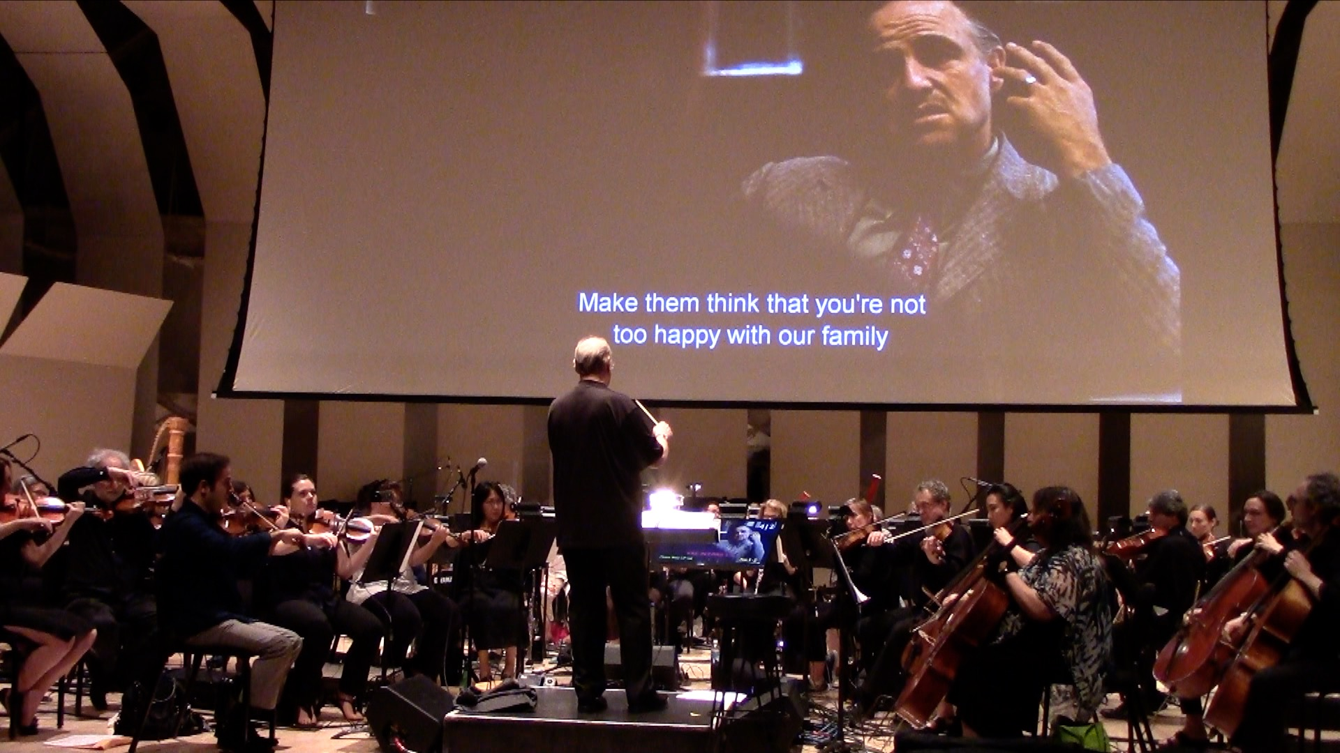 The Godfather Movie with Live Orchestra at the Tilles Center at LIU Post