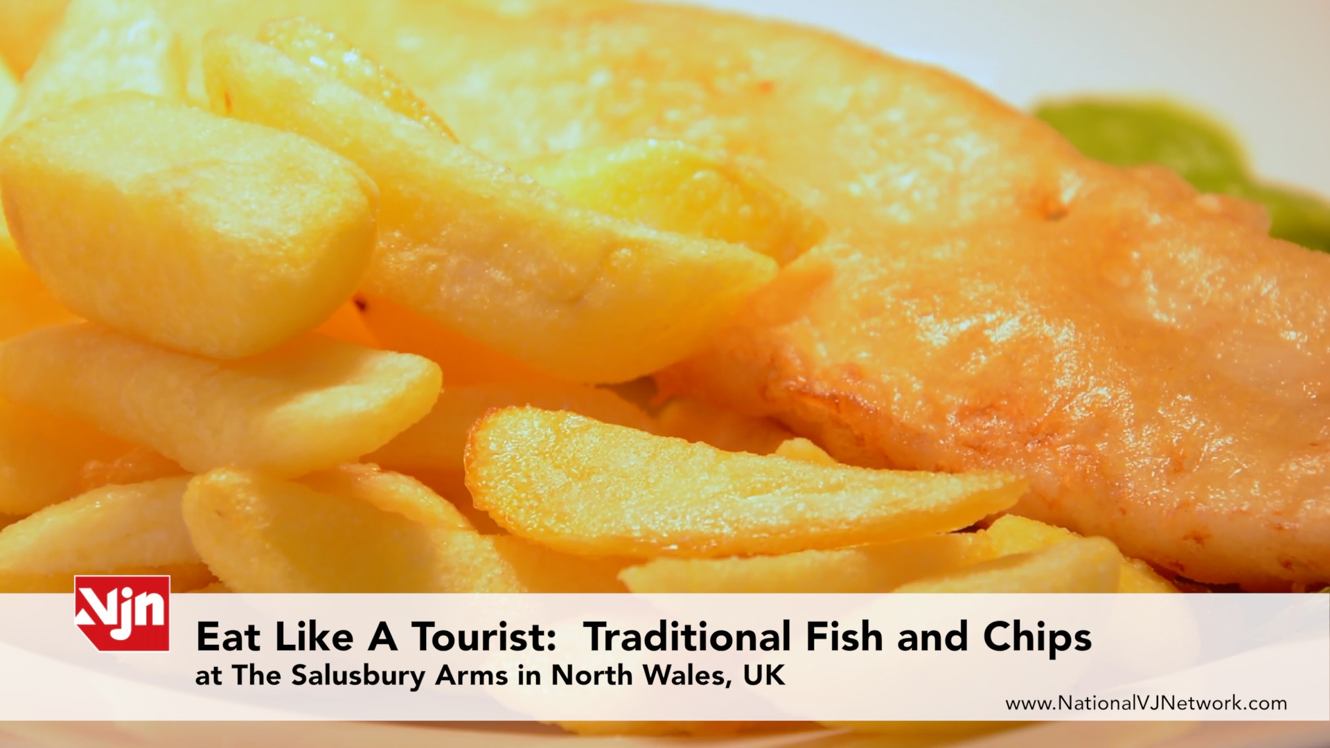 Eat Like A Tourist: How to Make Traditional Fish and Chips - North Wales, U.K.