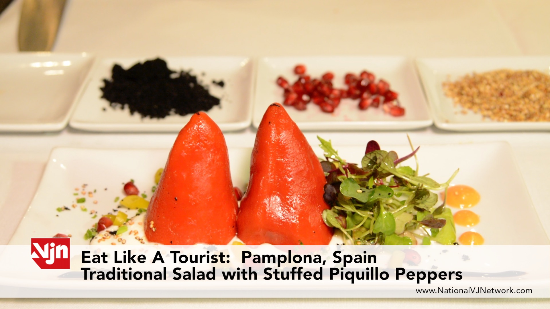 How Make Spanish Stuffed Piquillo Peppers - Pamplona, Spain