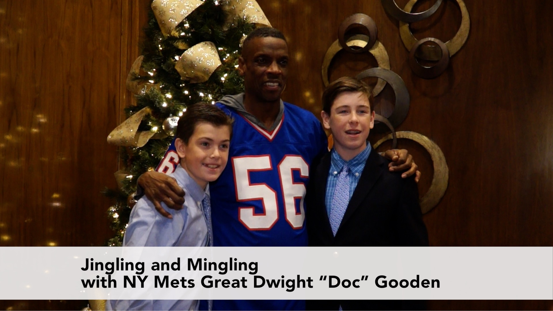 Jingle and Mingle with Doc Gooden at The Garden City Hotel