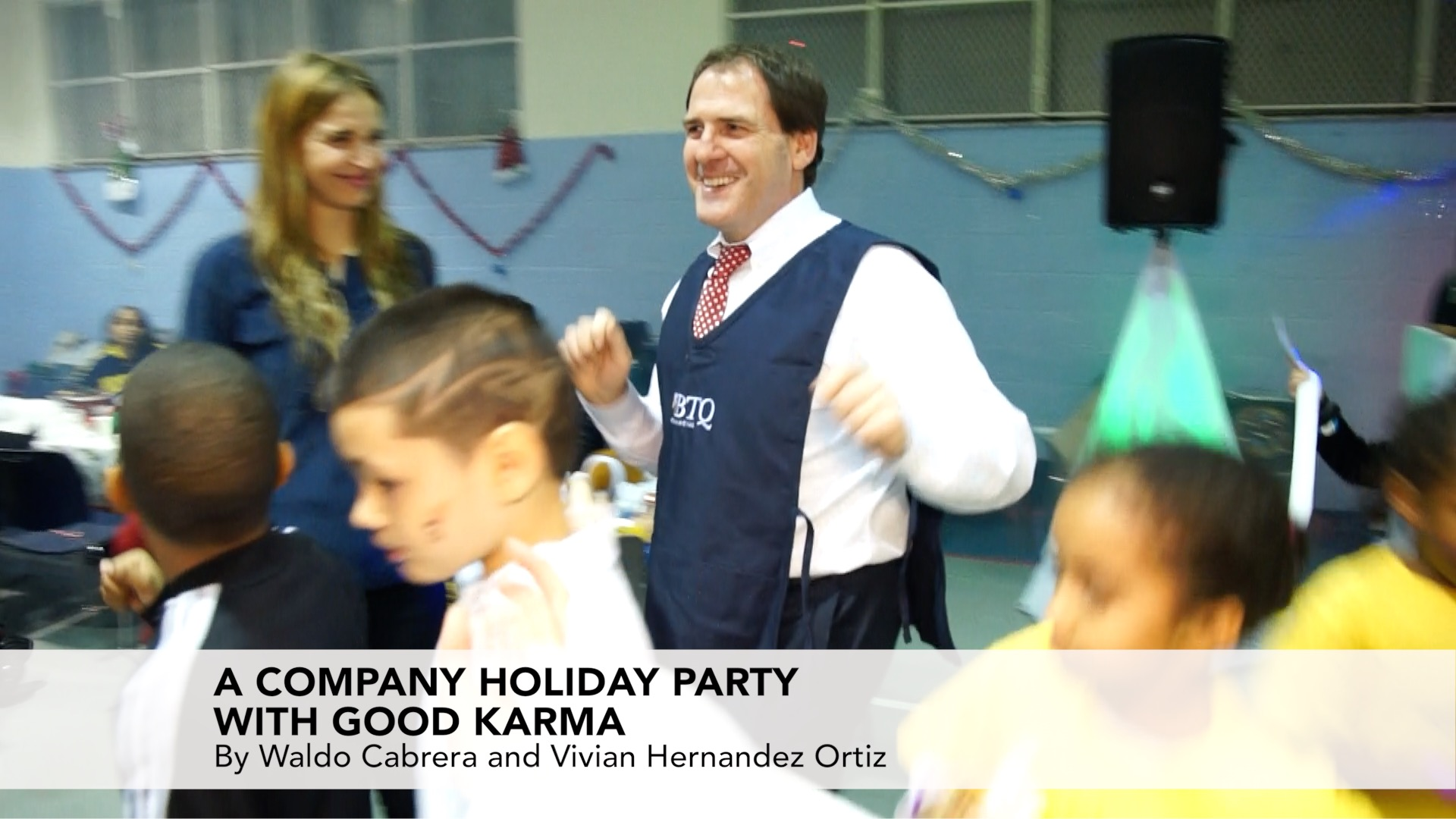 A Company Holiday Party with Good Karma