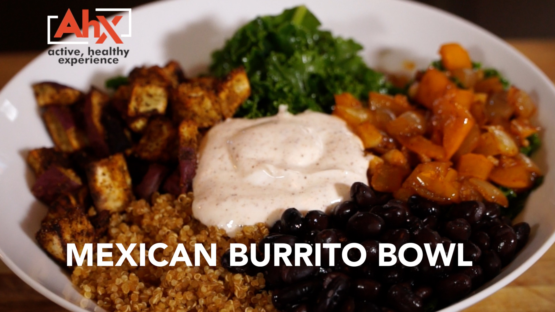Healthy Vegetarian Mexican Burrito Bowl | AHX