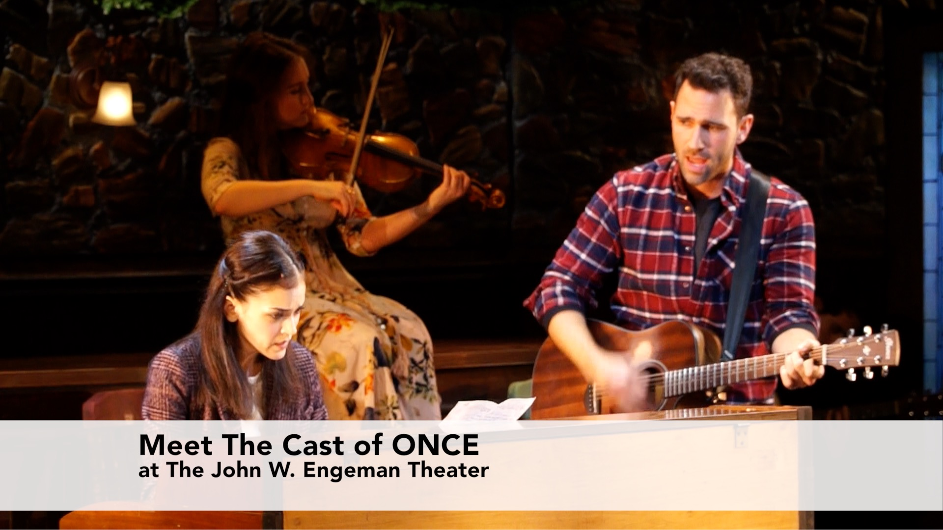 Meet The Cast of Once at The John W Engeman Theater